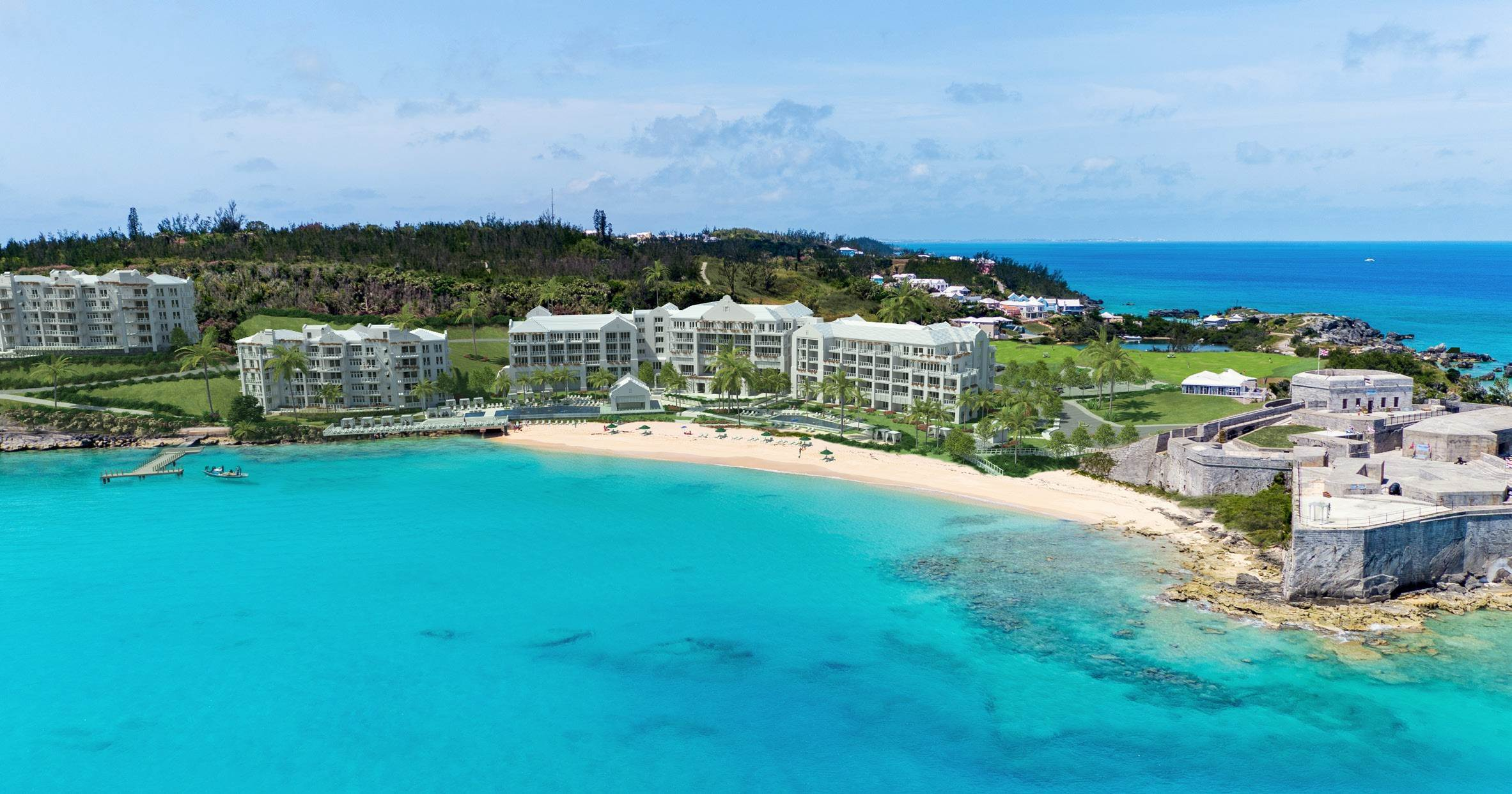 4. Condo / Townhouse / Flat for Sale at St. Regis Bermuda Residences - Gates Bay PHB St. Catherine's Beach St Georges Parish, GE03 Bermuda