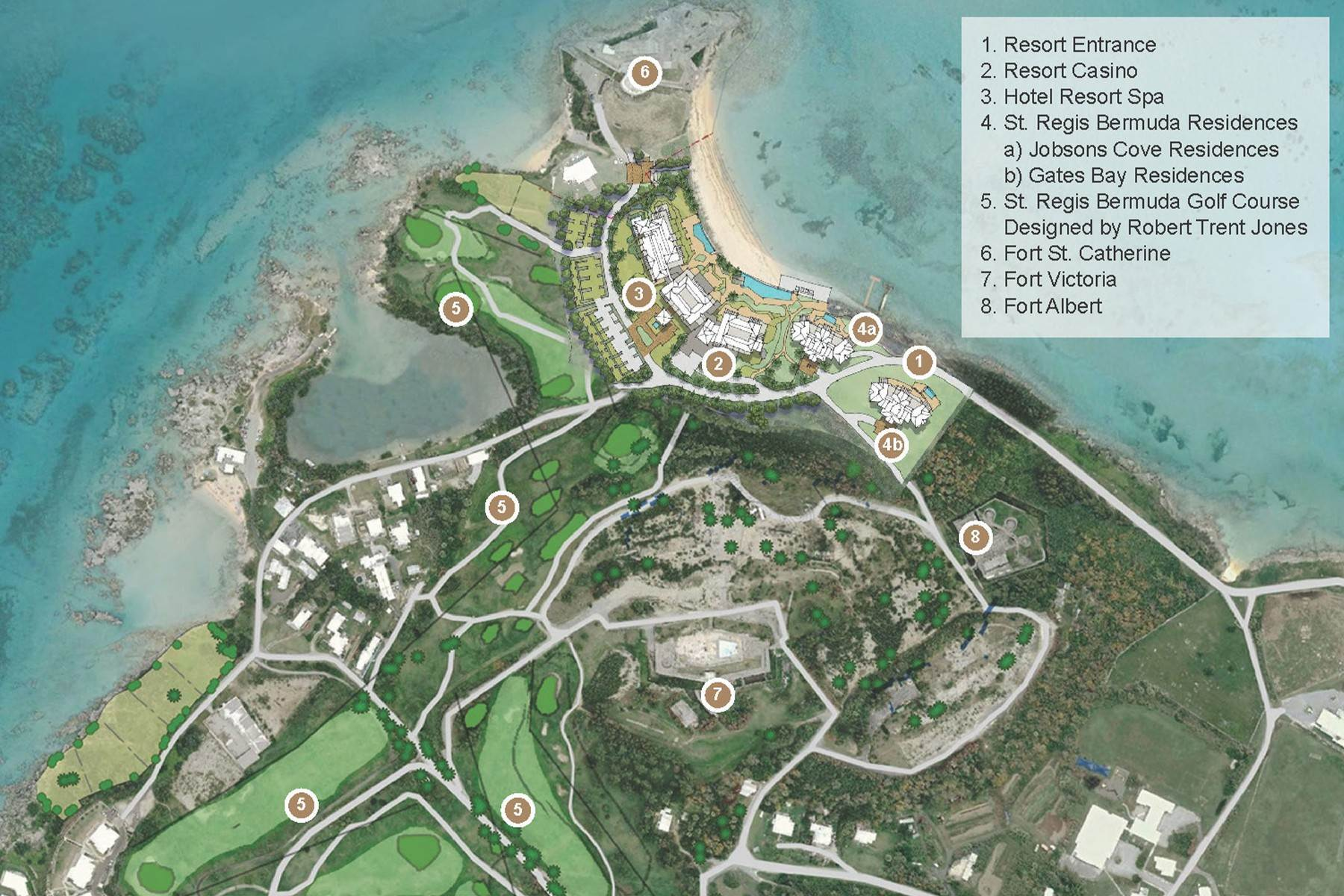 20. Condo / Townhouse / Flat for Sale at St. Regis Bermuda Residences - Gates Bay 4B St. Catherine's Beach St Georges Parish, GE03 Bermuda