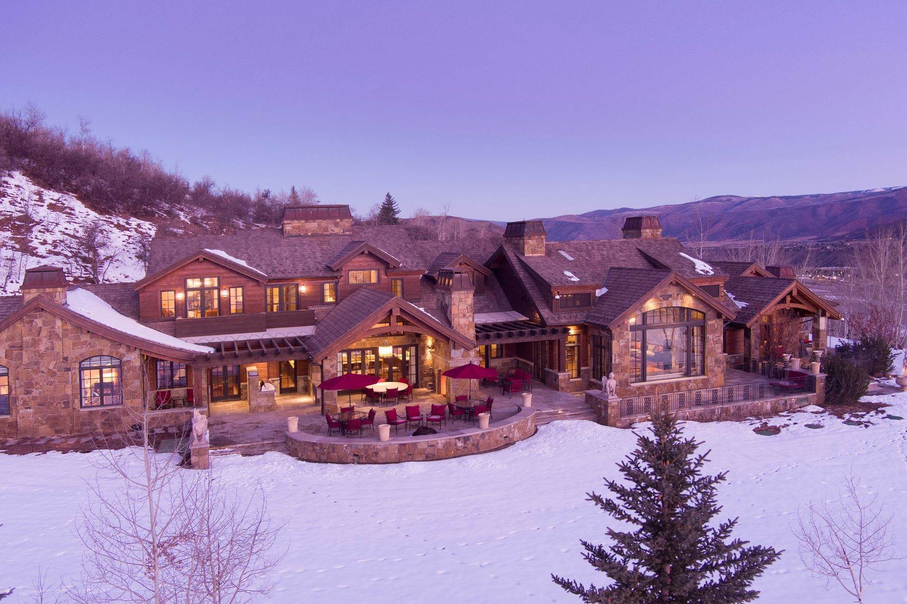Single Family Homes for Sale at Talk About Ski-In/Ski-Out! 220 Buttermilk Lane Aspen, Colorado 81611 United States
