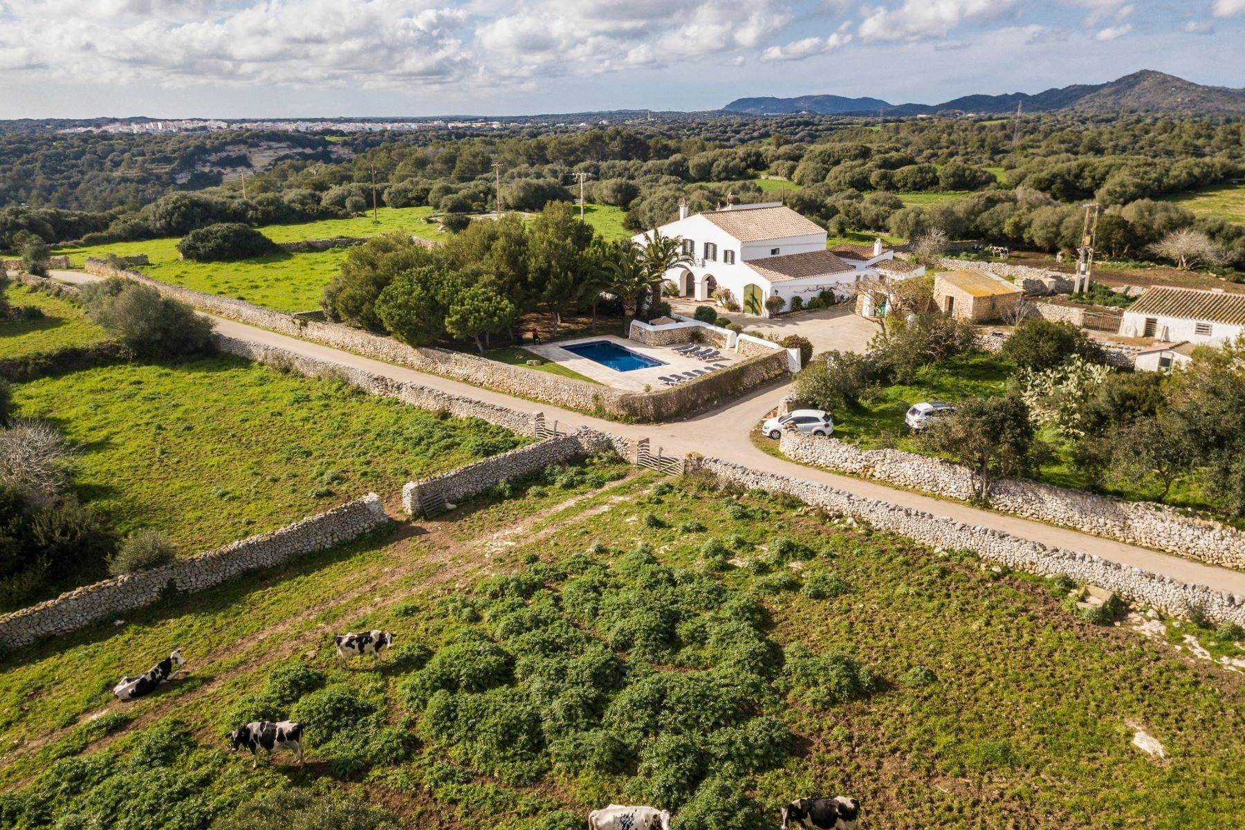 Single Family Homes at Distinguished and isolated Menorcan property with swimming pool Menorca, Menorca Spain