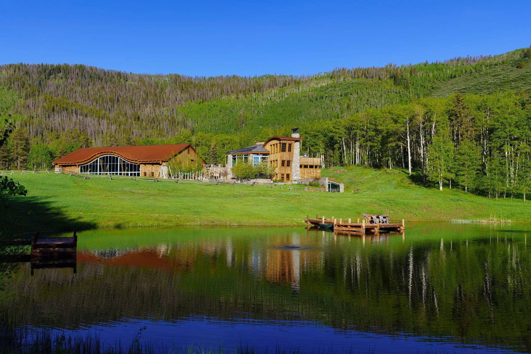 30. Single Family Homes por un Venta en Casteel Creek Retreat 25 Casteel Creek Road Edwards, Colorado 81632 Estados Unidos